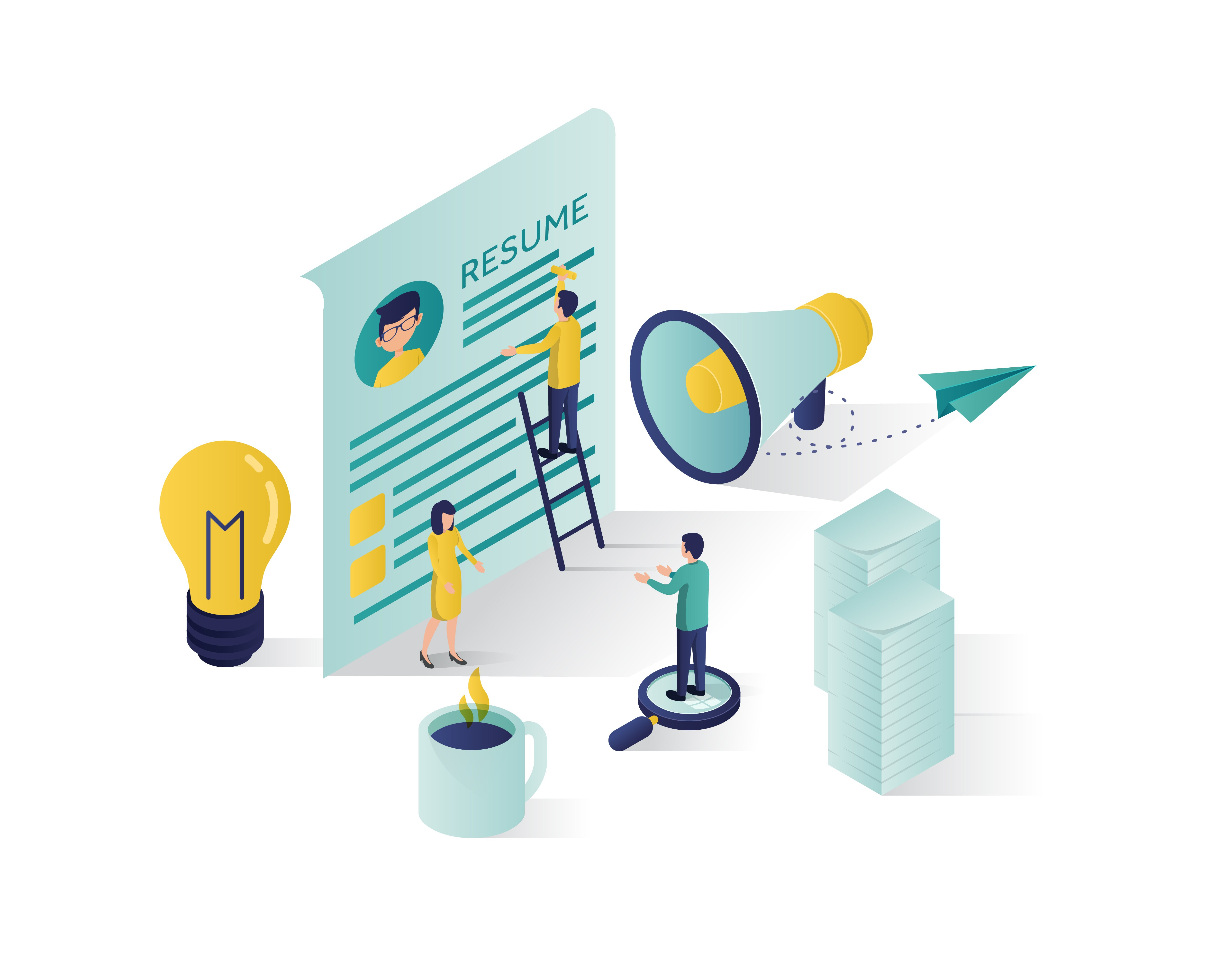 searching_for_candidate_isometric_illustrating-06